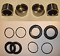 (x4) FRONT BRAKE CALIPER PISTONS & SEALS (Morgan Plus 4) (1959- 66 Only)