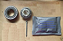 FRONT WHEEL HUB BEARING KIT x1 (Ford Popular Anglia Prefect 100e) (1945- Sep 59 Only)
