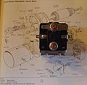 STARTER SOLENOID (Triumph Dolomite 1300, 1500 & 1850HL) (1971- 75)