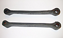 REAR AXLE REBOUND RUBBER STRAPS x2 (MGB & V8) (1975- 80)
