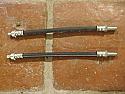 REAR BRAKE HOSES x2 (Jaguar S-Type) (1963-68)