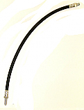 REAR BRAKE HOSE x1 (Armstrong Siddeley Star Limo) (Oct 59- 60)