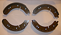 FRONT or REAR BRAKE SHOES SET (MG TD & TF) (1950- 55)