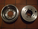 REAR BRAKE DRUMS x2 (Morris Minor) (1948-71)