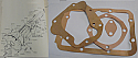 GEARBOX GASKET SET (Morgan Plus 4) (1991cc,2088cc & 2138cc) (1951- 68)