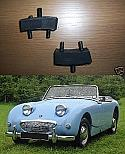 FRONT ENGINE MOUNTS x2 (Austin Healey Frogeye Sprite) (1958- 61)