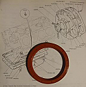 REAR ENGINE OIL SEAL - CRANKSHAFT (Triumph Stag) (1970- 77)