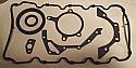 SUMP GASKET ENGINE SET (Ford Escort Mk5, MK6 & Mk7) (Zetec)