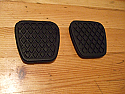 PEDAL RUBBERS x2 (MG F) (1995- 2005)