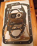 SUMP GASKET ENGINE SET (MGA) (1955- 62)