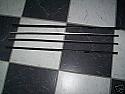 DOOR GLASS SEALS WEATHERSTRIPS (Triumph Spitfire & GT6) (1962- 82)