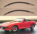 FRONT BRAKE HOSES x2 (TVR Tasmin) (200, 280, 350, 390, 420 & 450) (1980- 90)