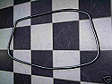 REAR WINDOW WINDSCREEN RUBBER SEAL (Ford Escort Mk1) (Silver Trim Included) (1968- 74)