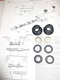 BRAKE MASTER CYLINDER REPAIR SEALS KIT (Ford Escort Mk2) (1977- 80)