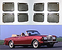 FRONT BRAKE PADS SET (Rolls Royce Corniche) (1965- Jan 73)