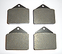 FRONT BRAKE PADS SET (Jaguar MkX) (4.2 Litre Only) (1964- 70)