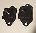 FRONT ENGINE MOUNTS x2 (Standard Triumph Herald 948 & 1200 Early) (1959-62)