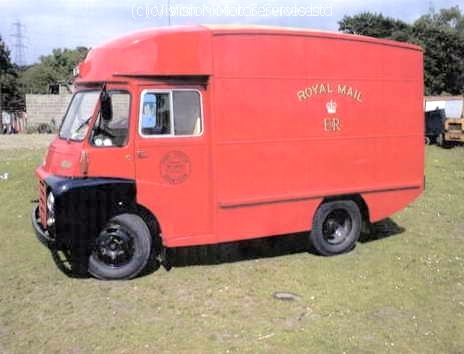 Austin LD Van Parts