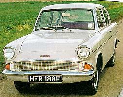 Ford Anglia 105e Parts