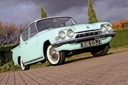 Ford Capri Consul Classic Parts