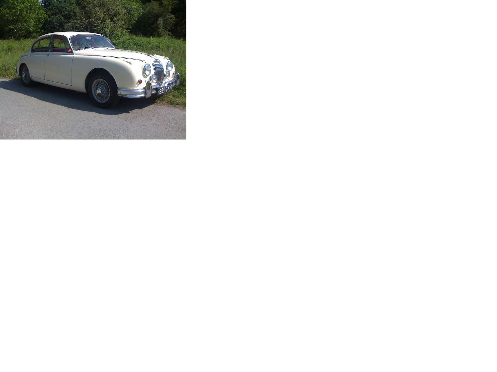 Jaguar Mk1, Mk2, S Type Parts & Daimler V8 Saloon