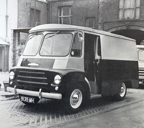 Morris LC & LD Van Parts