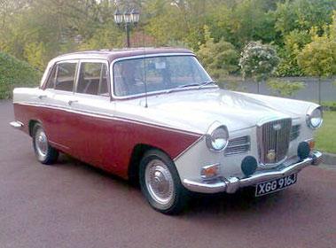 Wolseley 15/60 & 16/60 Car Parts