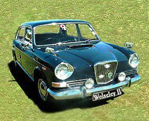 Wolseley 18/85 & 6 Car Parts