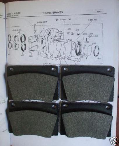 BRISTOL 409 410 411 412 603 REAR BRAKE CALIPER SEALS Kits x2 1965-82
