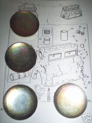 CORE PLUG ENGINE SET (Riley 1.5 Saloon) (1958- 65)