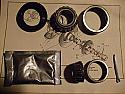 FRONT WHEEL HUB BEARING KIT x1 (Ford Escort Mk1) (1100 & 1300) (1968- 74) (* FRONT DISCS *)