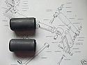 REAR SPRING EYE BUSHES x2 (Triumph Spitfire & GT6) (1962- 80)