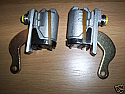 REAR BRAKE WHEEL CYLINDERS x2 (MG Midget Mk1) (*Early Type Brakes*) (**1961- 63 Only**)