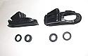 REAR BRAKE WHEEL CYLINDER REPAIR SEALS KITS x2 (Vauxhall Victor F Type & FB) (1957- 61)