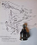 LOWER BALL JOINT x1 (Triumph Stag) (1970- 77)