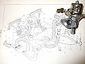 HEATER CONTROL VALVE TAP (Triumph Spitfire Mk3, MkIV & 1500) (From 1967- 80)