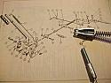 HANDBRAKE CABLE - BODY LENGTH (Triumph Spitfire & GT6) (1962- 80)