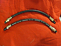 FRONT BRAKE HOSES x2 (Triumph TR3 & TR4) (** Check Chassis Number **)