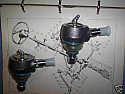 TOP BALL JOINTS x2 (Triumph TR2 TR3 TR4) (1953- 62 Only)