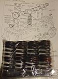 ENGINE VALVE SPRINGS x8 (Triumph TR7) (1975- 81)