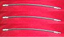 FRONT & REAR BRAKE HOSES x3 (Morris J Type & JB Van) (1949- 61)