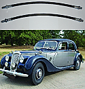 FRONT BRAKE HOSES x2 (Riley RME) (1-1/2 Litre) (**From 1952- 55**)