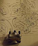 BRAKE ADJUSTER REAR x1 (Morgan 4/4, Plus 4, Plus 8) (1956- 94)