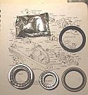 REAR WHEEL HUB BEARING KIT x1 (Triumph Stag) (1970- 77)