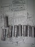 CAM FOLLOWERS SMALL x12 (Triumph Vitesse 1600cc) (Pre 1965)