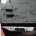THROTTLE CARB RETURN SPRINGS x2 (Triumph Spitfire Mk3 Mk4 1500 Early)  (** 1967- Eng No/ FM53446e **)