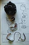 DISTRIBUTOR CAP POINTS ROTOR ARM CONDENSER (Triumph 1500 RWD Saloon) (From Dec 1974- 75)