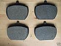 FRONT BRAKE PADS SET (Vauxhall Victor FE, Ventora FE, VX4/90 FE, VX1800 FE & VX2300 FE) (1972- 78)