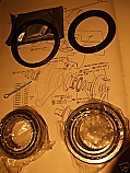 REAR WHEEL HUB BEARING KIT x1 (Jaguar 420 & 420g) (1966- 70)