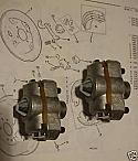 BRAKE ADJUSTERS REAR x2 (Vauxhall Cresta PA & PB) (1957- 66)